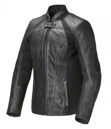 Triumph Cara Ladies Black Leather Motorcycle Motorbike Jacket D3O Armour